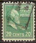 Sellos de America - Estados Unidos -  James A. Garfield