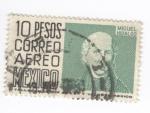 Sellos del Mundo : America : México : Correo aereo.Miguel Hidalgo
