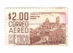 Stamps America - Mexico -  Correo aereo. Guerrero arquitectura colonial