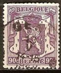 Sellos del Mundo : Europa : Bélgica : Pequeño escudo de armas.