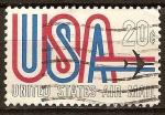 Sellos de America - Estados Unidos -  USA-Correo aéreo.