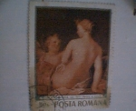 Stamps Europe - Romania -  venus i amor