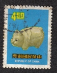 Stamps China -  Puerco