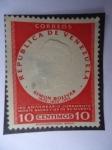 Stamps of the world : Venezuela :  Simón Bolívar-150 Aniversario Juramento Monte Sacro y 125 de su Muerte-1805-1830-1955