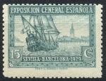 Sellos de Europa - España -  ESPAÑA 438 PRO EXPOSICIONES DE SEVILLA Y BARCELONA