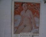 Stamps Romania -  nicolae tonitza-nud