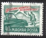 Stamps Hungary -  Vamos a ser amigos en el tráfico!