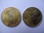 monedas del Mundo : America : Colombia :  República de Colombia-$100