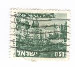 Sellos del Mundo : Asia : Israel : Paisaje de Rosh Pinna