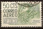 Stamps of the world : Mexico :  Chiapas ,arqueologia