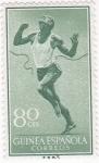 Sellos de Africa - Guinea Ecuatorial -  Deportes - corredor
