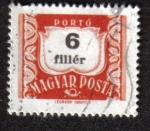 Stamps Hungary -  Postage Due