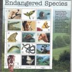 Sellos de America - Estados Unidos -  Especies en peligro de extinción