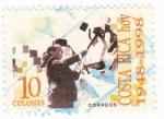 Sellos de America - Costa Rica -  Costa Rica Hoy 1948-1998