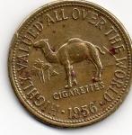 monedas de America - Estados Unidos -  ficha de cigarros camel 20