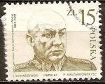 Sellos del Mundo : Europa : Polonia : 90a Aniv nacimiento del general Karol Swierczewski.