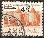Sellos del Mundo : Europa : Polonia : 700a Aniv de Varsovia. Barbacana.