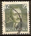 Sellos del Mundo : Europa : Polonia : Presidente Bolesław Bierut.