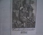 Stamps Czechoslovakia -  vaclav hollar