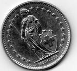 monedas de Europa - Suiza -  helvetia