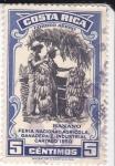 Stamps Costa Rica -  Feria  Nacional Agricola- bananeros