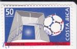 Sellos de America - Costa Rica -  Francia-98 futbol