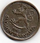 monedas del Mundo : Europa : Finlandia :  soumen tasavaltar