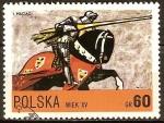 Sellos de Europa - Polonia -  Caballero del Ejército de Wladyslaw Jagiello (siglo 15).