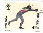 Sellos de Europa - Polonia -  2288 - Olimpiadas Montreal, boxeo