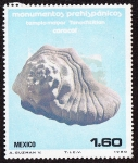 Stamps of the world : Mexico :  MEXICO - Ciudad prehispánica de Teotihuacán