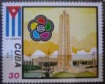 Sellos del Mundo : America : Cuba : XI Festival Mundial de la Juventud y los Estudiantes