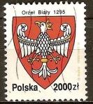 Sellos de Europa - Polonia -  La historia del águila blanca, el emblema nacional de Polonia.