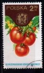 Sellos del Mundo : Europa : Polonia : congreso hortícola internacional. tomates