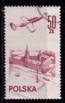 Sellos de Europa - Polonia -  Aéreo