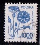 Sellos del Mundo : Europa : Polonia : Flores