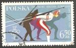 Sellos de Europa - Polonia -  2493 - Olimpiadas de invierno en Lake Placid, biathlon