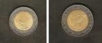 monedas de Europa - Italia -  República y Palacio del Quirinale