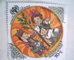 Stamps Mongolia -  international year of the child
