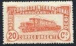 Sellos de Europa - España -  ESPAÑA 482 XI CONGRESO INTERNACIONAL DE FERROCARRILES