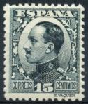Sellos de Europa - España -  ESPAÑA 493 ALFONSO XIII TIPO VAQUER DE PERFIL