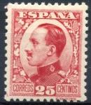 Sellos de Europa - España -  ESPAÑA 495 ALFONSO XIII TIPO VAQUER DE PERFIL