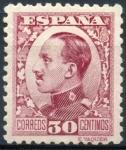 Sellos de Europa - España -  ESPAÑA 496 ALFONSO XIII TIPO VAQUER DE PERFIL