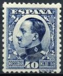 Sellos de Europa - España -  ESPAÑA 497 ALFONSO XIII TIPO VAQUER DE PERFIL