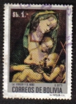 Sellos del Mundo : America : Bolivia : La Virgen y El Niño
