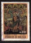 Sellos de America - Bolivia -  Coronación de La Virgen