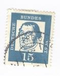 Sellos del Mundo : Europa : Alemania : Martin Lutero