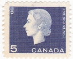 Stamps : America : Canada :  Queen Elizabeth