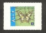 Sellos del Mundo : Europa : Bélgica : 4235 -  Mariposa marijke meersman