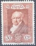 Stamps Spain -  ESPAÑA 509 QUINTA DE GOYA EN LA EXPOSICION DE SEVILLA