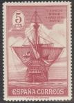 Stamps Spain -  ESPAÑA 534 DESCUBRIMIENTO DE AMERICA